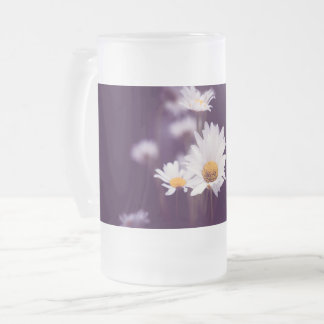 Camomile dreams frosted glass beer mug