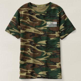 Camouflage 2nd Amendment Support Team T-shirt