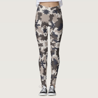 Camouflage Army - power Yoga put-went Leggings