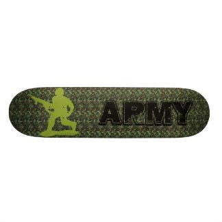 camouflage  ARMY Spy mission skateboard
