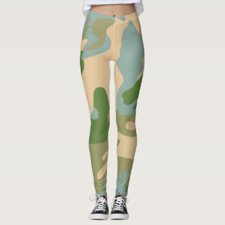 Camouflage army  style leggings
