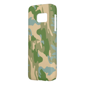 Camouflage army  style samsung galaxy s7 case