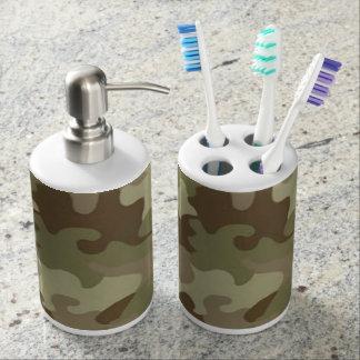 Camouflage Bath Set