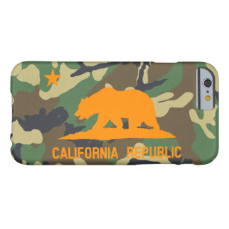 Camouflage California Flag Barely There iPhone 6 Case