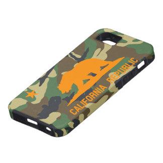 Camouflage California Flag iPhone 5 Case