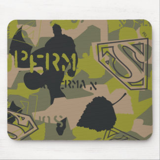 Camouflage Collage Mouse Pad