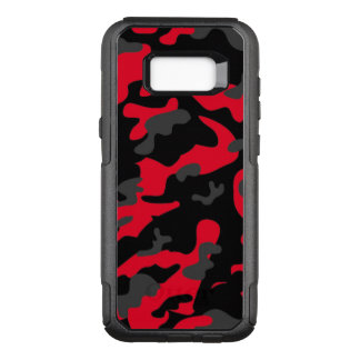 Camouflage Como Army Military Print Orange OtterBox Commuter Samsung Galaxy S8+ Case