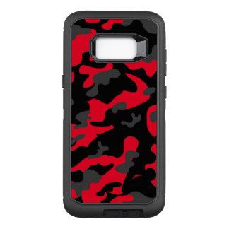 Camouflage Como Army Military Print Orange OtterBox Defender Samsung Galaxy S8+ Case