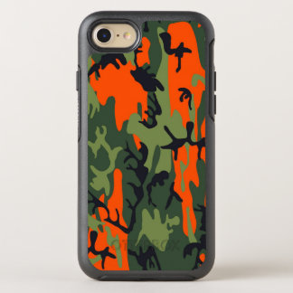 Camouflage Como Army Military Print textures OtterBox Symmetry iPhone 7 Case