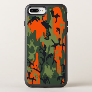 Camouflage Como Army Military Print textures OtterBox Symmetry iPhone 8 Plus/7 Plus Case