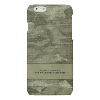 Camouflage Custom Name Military or Hunting