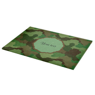 Camouflage Cutting Board