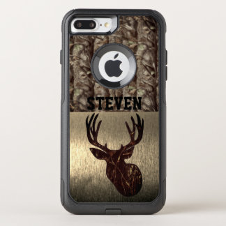 Camouflage Deer Hunting Name Case
