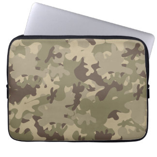 Camouflage design laptop sleeve
