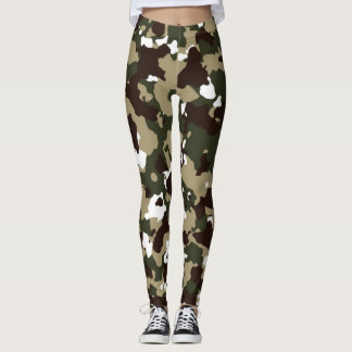 Camouflage Design Leggings