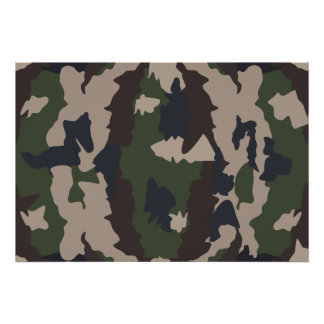 Camouflage design posters