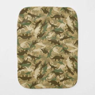 Camouflage Dinosaur Burp Cloth
