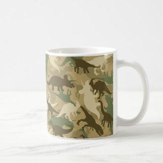 Camouflage Dinosaur Print Coffee Mug