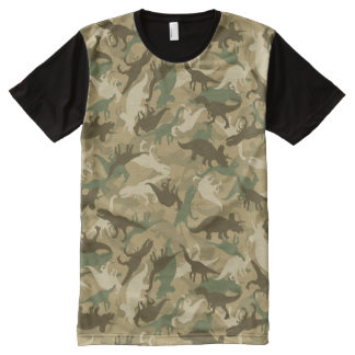 Camouflage Dinosaur T-shirt