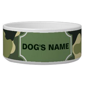 Camouflage Dog Bowl