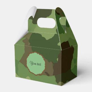Camouflage Favor Box