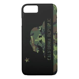 Camouflage Flag of California Republic iPhone 7 Case