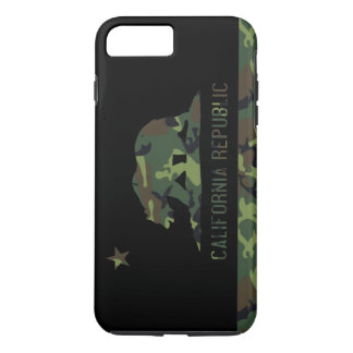 Camouflage Flag of California Republic iPhone 8 Plus/7 Plus Case