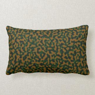 Camouflage Green Brown Lumbar Pillow