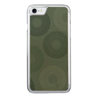 Camouflage Green Lace Doily Carved iPhone 8/7 Case