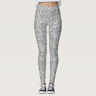 Camouflage grey-melange Leggings