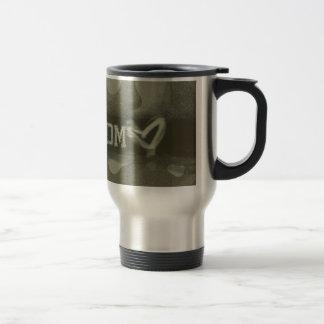 Camouflage Grunge Army Mom Love Coffee Mug