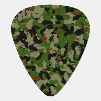 Camouflage Guitar Pick