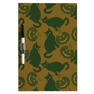 Camouflage Halloween Dry-Erase Whiteboard