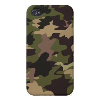 Camouflage iPhone 4/4S Cover