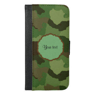 Camouflage iPhone 6/6s Plus Wallet Case