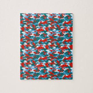 Camouflage Jigsaw Puzzle