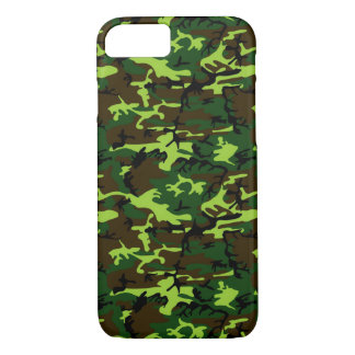 Camouflage (jungle green) ~ iPhone 7 case
