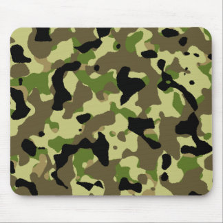 Camouflage Khaki Commando Camo Game Mousepad