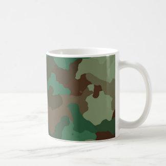 Camouflage, military coffee mug