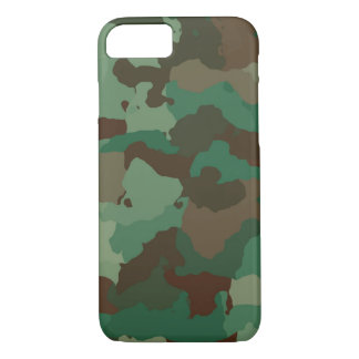 Camouflage, military iPhone 8/7 case