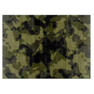 Camouflage military style boards