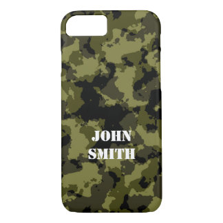 Camouflage military style pattern iPhone 8/7 case
