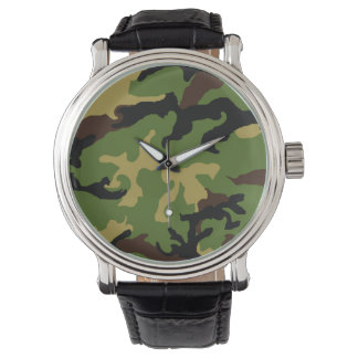 'Camouflage Military Tribute' Watch