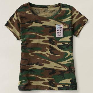 Camouflage Not My POTUS T-shirt