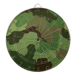 Camouflage Pattern Dartboard