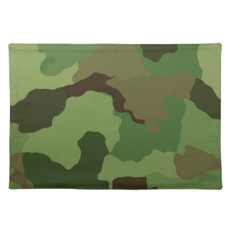 Camouflage Pattern Placemat