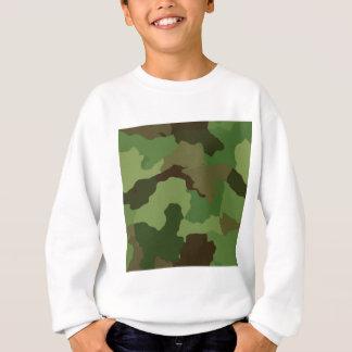 Camouflage Pattern Sweatshirt