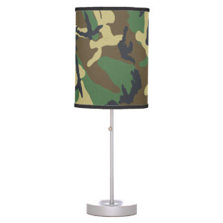 Camouflage Pattern Table Lamp