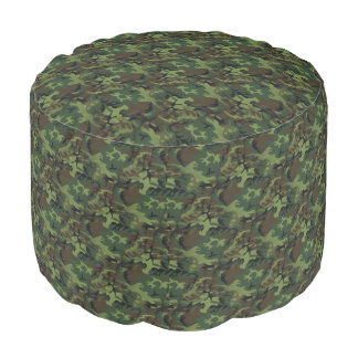 Camouflage Pouf