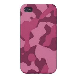 Camouflage rose iPhone 4 case